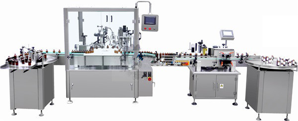 Auto Liquid Filling Machine Line For Essential Oil