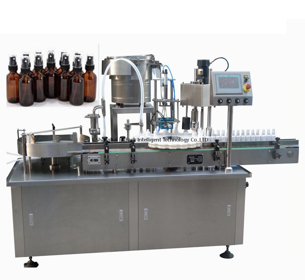 Automatic Filling And Capping Machine For Spray Pump Cap and Dropper Cap