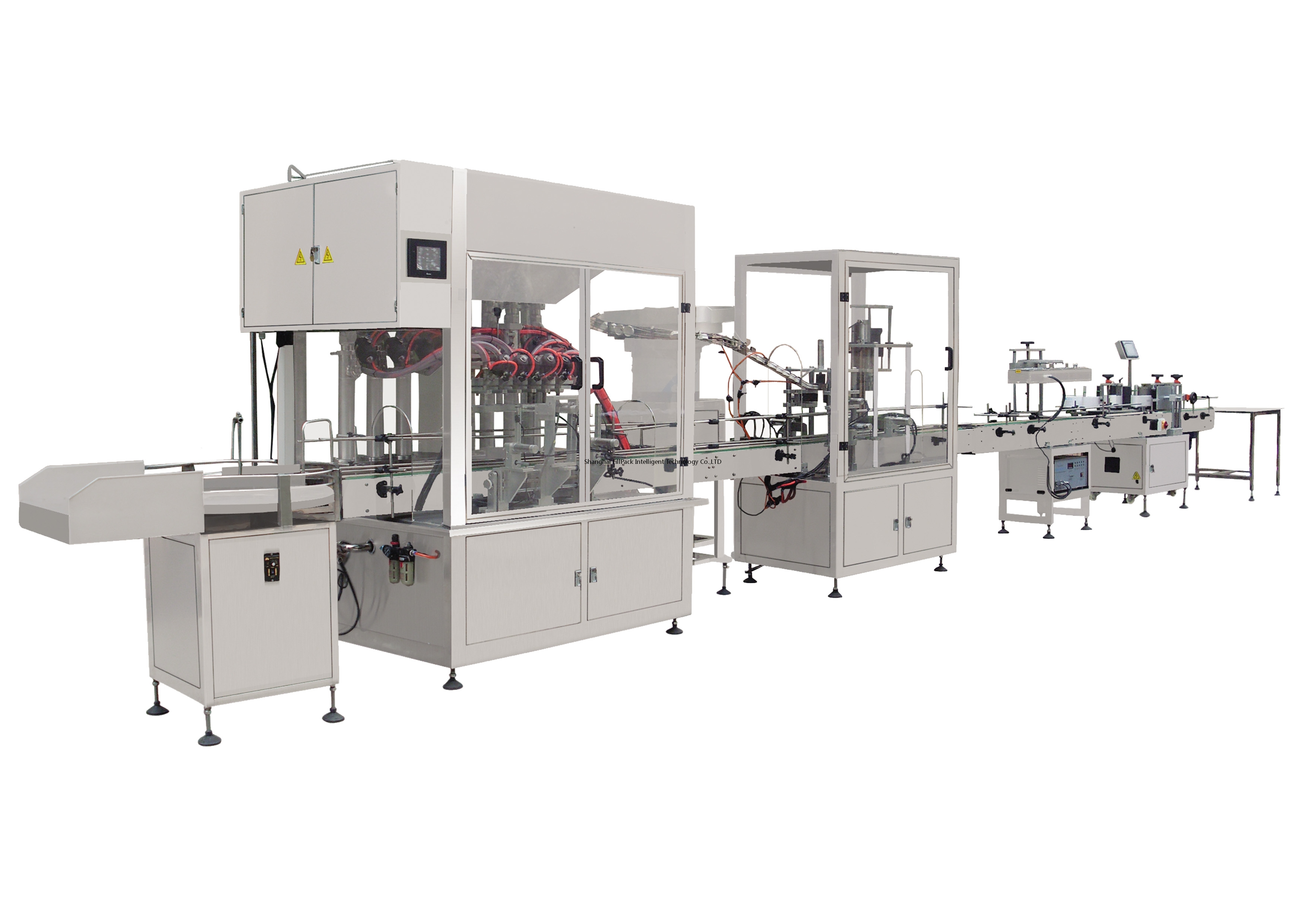 Laundry Detergent Liquid Filling Capping Labeling Line